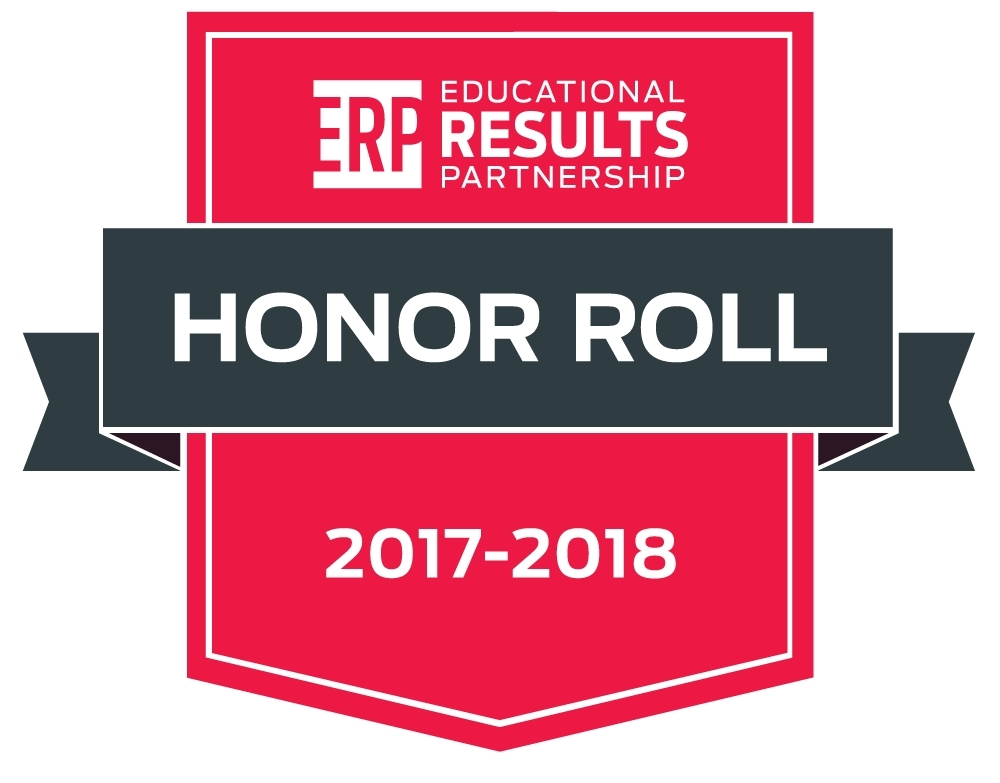 Educational Results Partnership Honor Roll 2017-2018 Logo