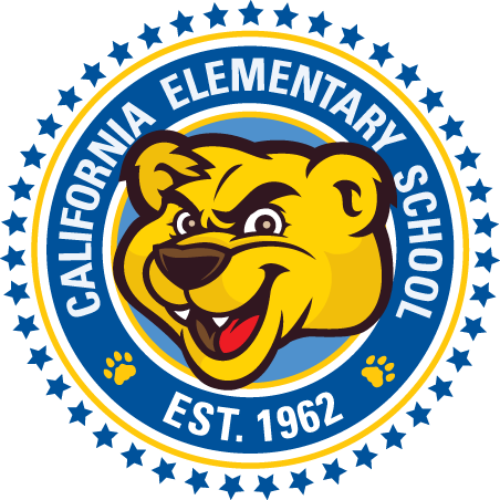 California Elementary School Logo-Cougar Established 1962