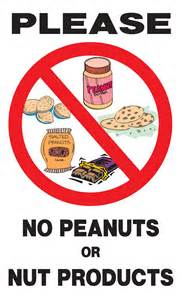 Please no peanuts or nut products